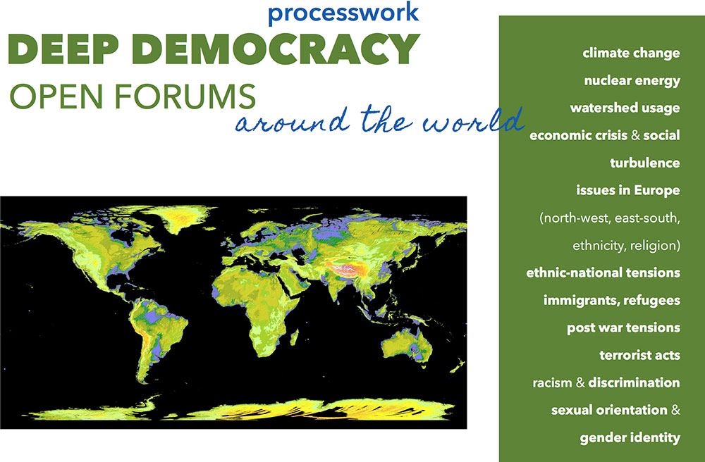 open forums around world